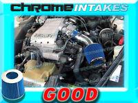 Blue 90 91 92-94 Chevy Lumina Oldsmobile Cutlass Ciera/supreme 3.1l Air Intake