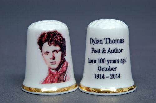 Dylan Thomas Born 100 Jahre Ago Oktober 1914 China Fingerhut B 144