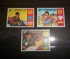 BHUTAN  SC 289 290 291  INT'L YEAR OF THE CHILD  MNH 1979