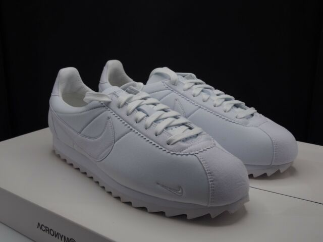 on sale 7a065 7c6b5 Nike Classic Cortez Shark Low SP Triple White Big Tooth 810315-110