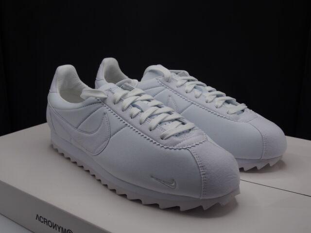 premium selection cf41b a128d Mens Nike Classic Cortez Shark Low SP Shoes Sz 10.5 White 810135 110