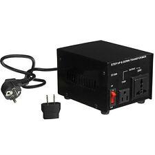 NEU SPANNUNGSWANDLER 500 Watt USA Transformator 230V-110V  Converter 500W 100V