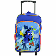 CHILDRENS LARGE PREMIUM DISNEY FINDING DORY TROLLEY BAG SUITCASE NEW