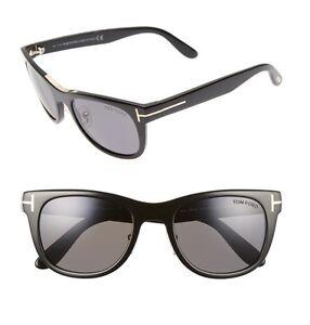 72c548cf35c3 TOM FORD Men FT0045 01D Jack Black Polarized Frame Italy Sunglasses ...