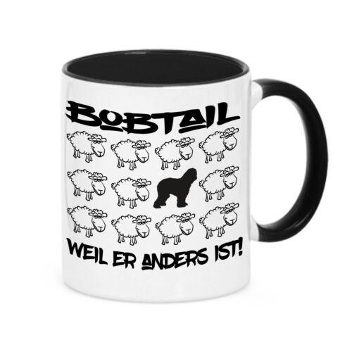 Tasse BLACK SHEEP BOBTAIL Old english Sheepdog Schaf Kaffebecher Siviwonder