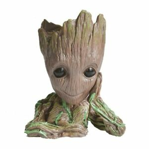 Baby Groot Tree Man Flowerpot Planter Figure Cute Toy Home Deca Model Gift