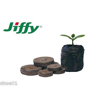70 Pastillas de Turba Prensada Jiffy's 41mm Cultivo Huerto Urbano Germinadores