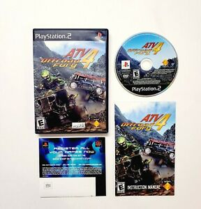 ATV Offroad Fury 4 (Sony PlayStation 2 PS2 2006) Complete with Manual