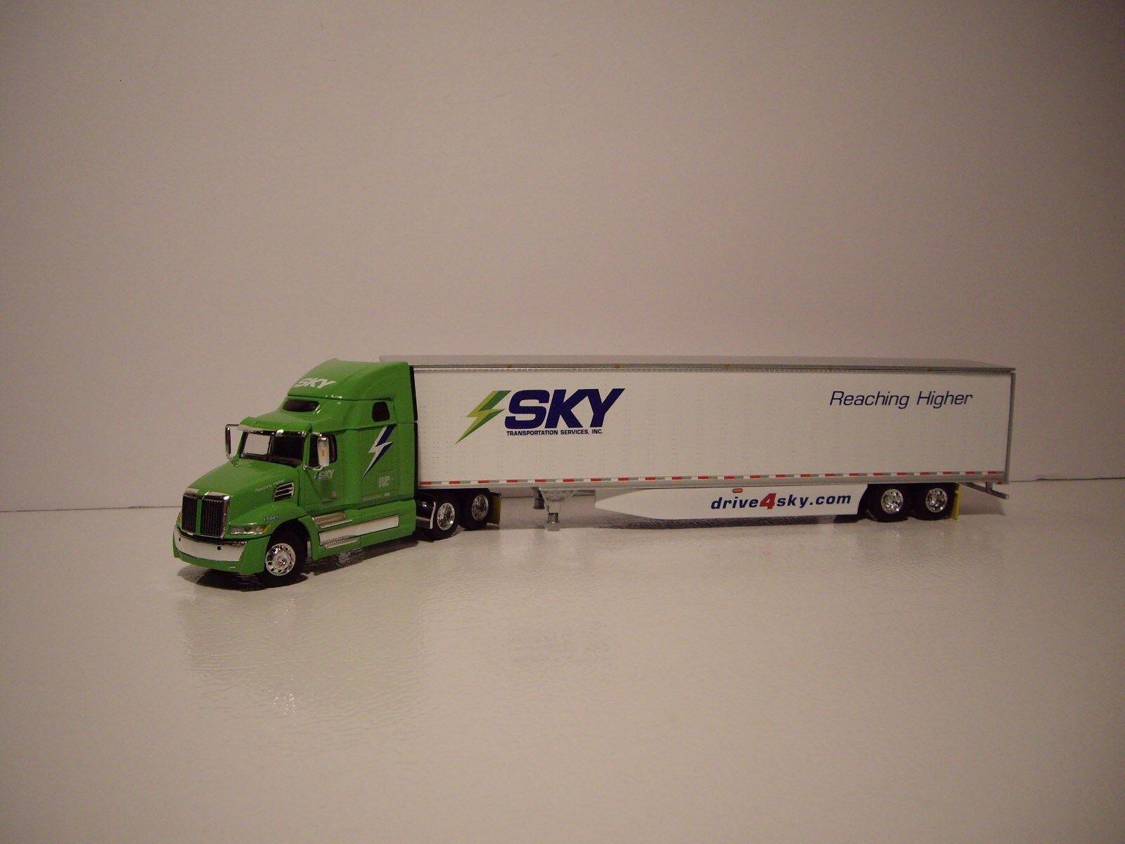 1   64 himmel transport dienstleistungen western star 5700 xe mit schlafwagen und 53  dry van