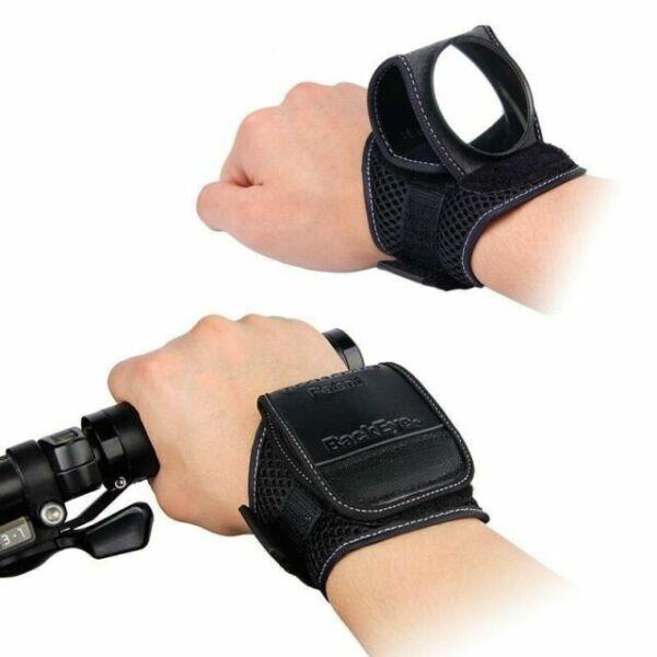 Wide View MTB Arm Wrist Strap Bike Mirror Safty ABS Bike Accessories Rearview T3