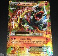 MEGA M Houndoom EX 22/162 XY BreakThrough NEAR MINT Pokemon Card