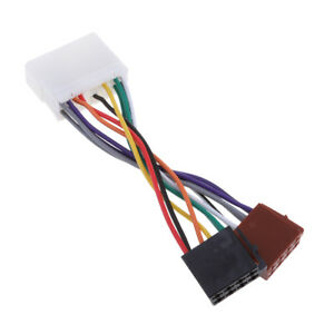 Details about New Car Radio Stereo Wiring Connections To ISO Connections on