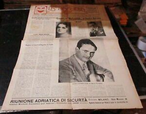 Periodico-Teatral-la-Mascara-Ano-Ix-N-V-17-18-Roma-15-Nov-1928-Bonito-Rrr