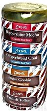ZHENA'S TEA SAMPLER 4 VARIETIES Holiday Collection Peppermint, Chai, ORGANIC