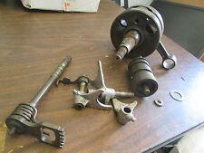 84 Suzuki RM250 RM 250 Transmission Shift Drum Shift Shaft Crankshaft parts Lot
