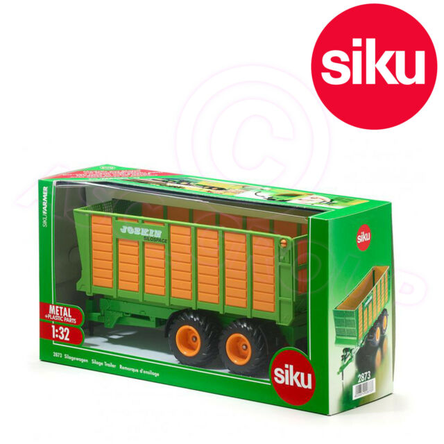 Siku 2873 Silage Trailer Joskin Silospace Twin Axle High Side 1:32 Scale