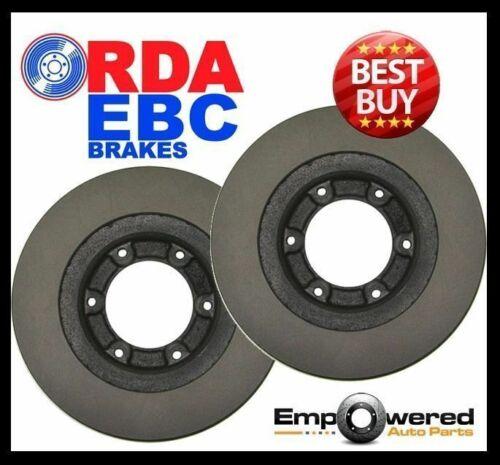 REAR DISC BRAKE ROTORS for Ford F250 4.6L 5.4L 6.0L 7.3L 4WD 1999-2005 RDA7763