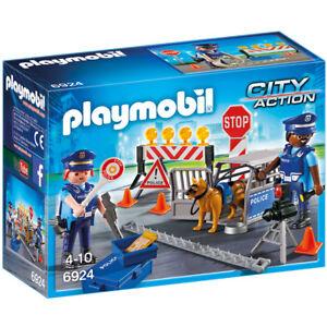 Playmobil-6924-Control-de-Policia-con-luces-Police-Control-City-Action