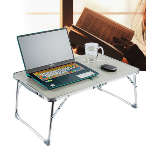 Portable Folding Picnic Camping Desk Laptop Table Stand Notebook Sofa Study Tray
