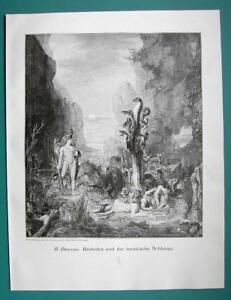 HERCULES-Labors-Killing-9-headed-Hydra-VICTORIAN-Era-Print