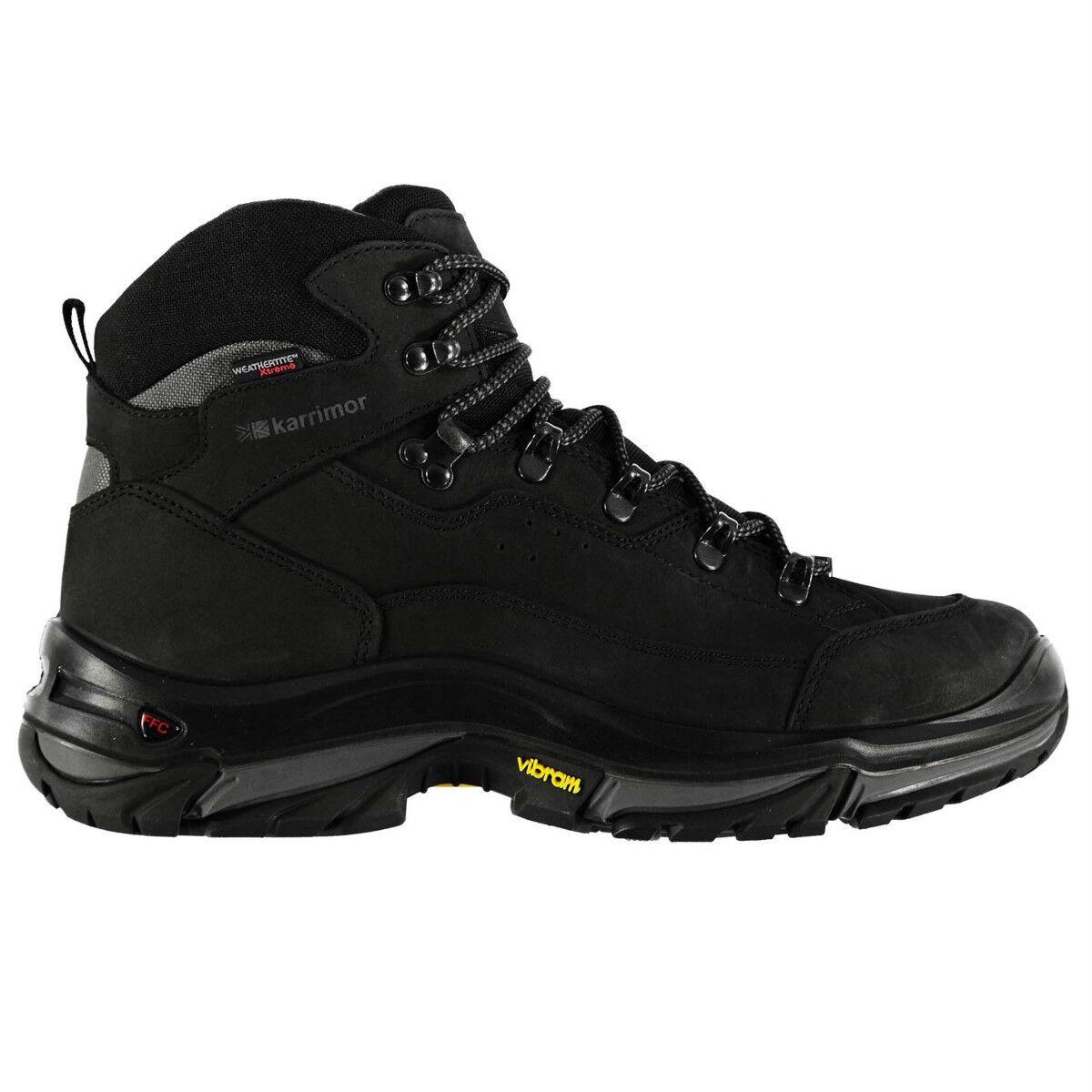 KARRIMOR Men's KSB Brecon Waterproof Mid Hiking Boots NIB Size 10 Vibram