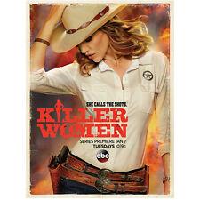 "Killer Women Tricia Helfer Molly Parker ""She Calls the Shots"" 8 x 10 Inch Photo"