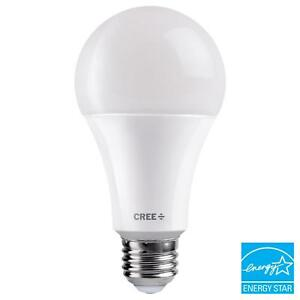 Details About Cree A21 Dimmable Led Light Bulb Daylight 5000k Exceptional Equivalent 100 Watt