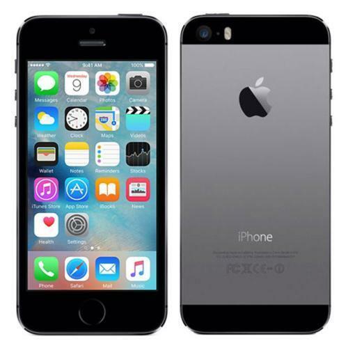 Unlocked Original Apple iPhone 5s 64GB Space Gray CDMA GSM IOS 8MP Smartphone