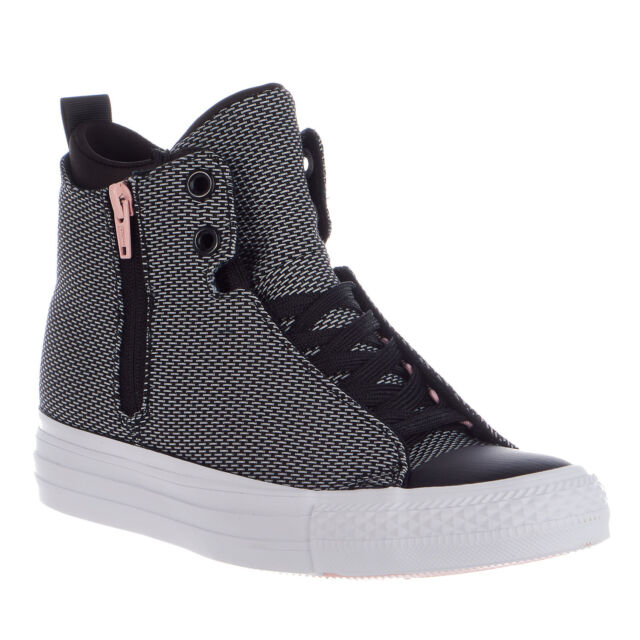 1ba501715d71 Converse Womens Chuck Taylor All Star Selene Shield High Top SNEAKERS Size  5 for sale online