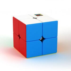 Zauberwuerfel-2x2-MoYu-Meilong-stickerless-Original-speedcube-magiccube-brandneu