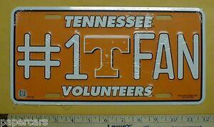 University of Tennessee Volunteers Vols Fan New metal