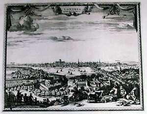 Antique-map-Londres-Capitale-de-l-039-Angleterre
