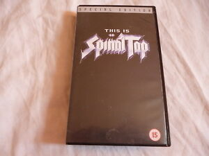 VHS-VIDEO-FILM-THIS-IS-SPINAL-TAP-SPECIAL-EDITION-PAL-VHS