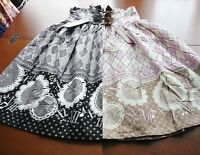 Bodyline Classic Lolita Antique Clock High-waist Skirt Grey Or Pink Size 2l