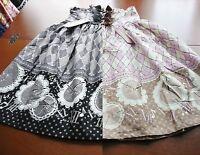 Bodyline Classic Lolita Antique Clock High-waist Skirt Grey Or Pink Size 2l