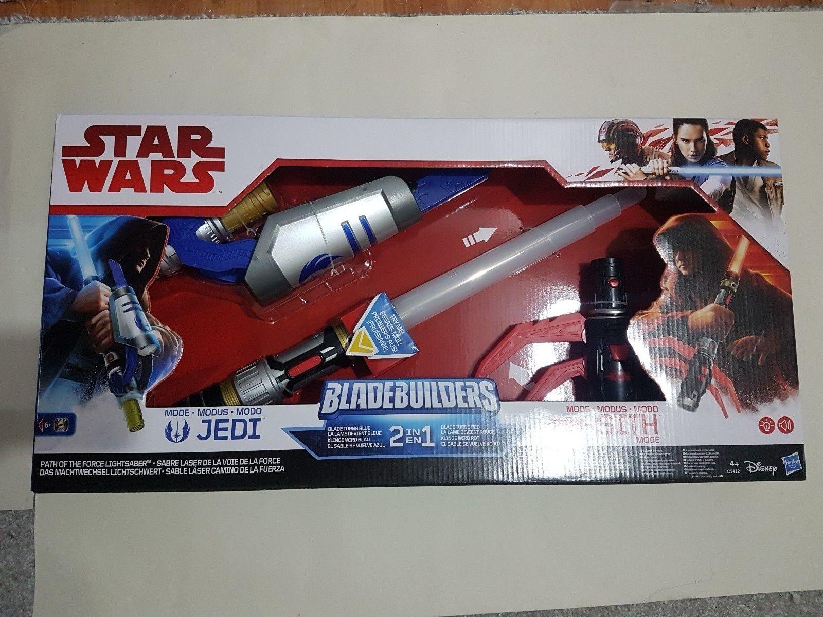 Star wars Bladebuilders  Modo Jedi Modo Sith 2 in 1
