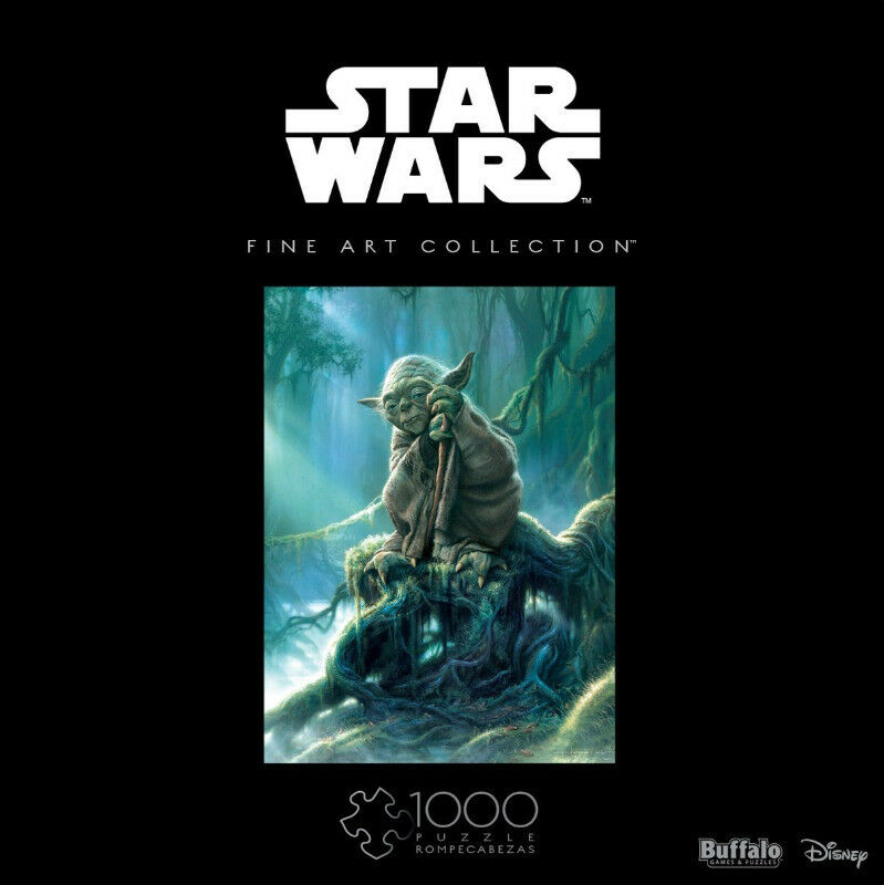 Star Wars: Fine Art Collection - Yoda - 1000 Piece Puzzle (New)