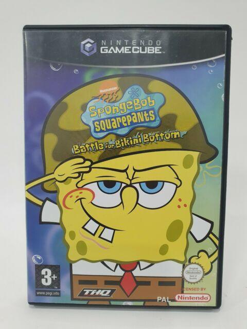 Spongebob Squarepants: Battle for Bikini Bottom GameCube Pal Very Rare Nintendo