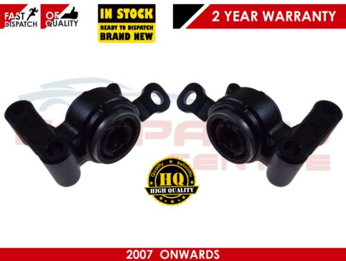 FOR BMW MINI CLUBMAN R55 2007/>15 FRONT 2 LOWER WISHBONE ARM REAR BUSH MOUNTINGS