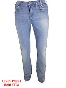 Jeans-Meltin-039-Pot-Uomo-Marvin-Slim-Chiaro-Celeste-Elasticizzato-Taglia-W28-W29