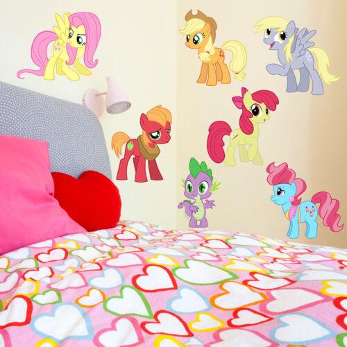 My Little Pony Kids Boy Girls Color Bedroom Vinyl Decal Wall Art Sticker Gift