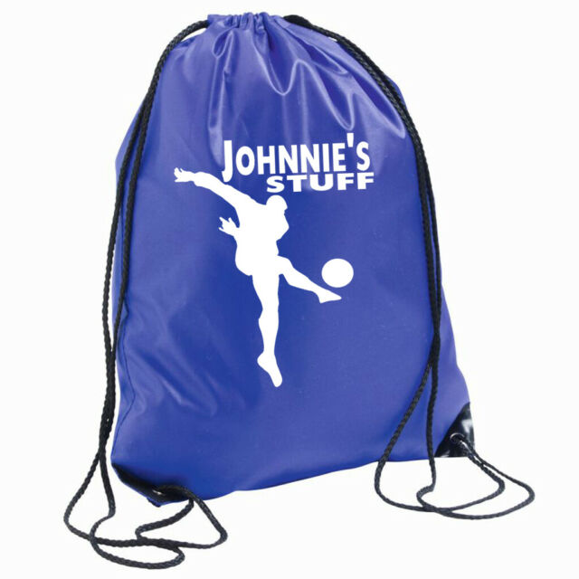 Norwich Boot Bag Sports Trainer Shoe School PE Football *Personalised* AF93