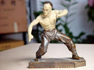 Other Combat Sport Supplies Boxing, Martial Arts & Mma Statuetta Taiji Kung Fu Stile Tai Chi Ying Yang Cinese Style Figurine Wing Tsun