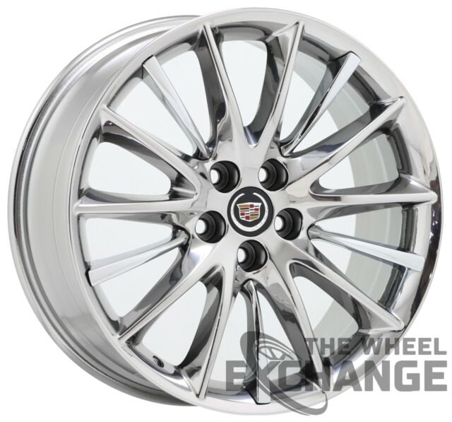 "20"" Cadillac Ct6 XTS Platinum PVD Chrome Wheel Rim Factory"