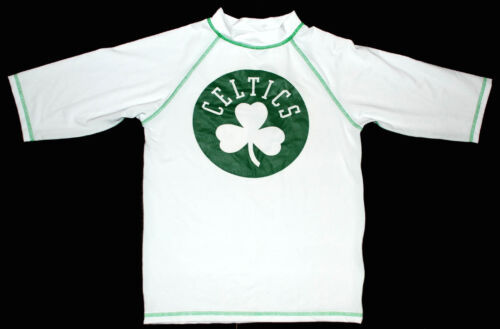 bagno da Guard Spf 50 Nba Boston Nwt Camicia Boys Rash Shamrock Celtics SBqfwYX