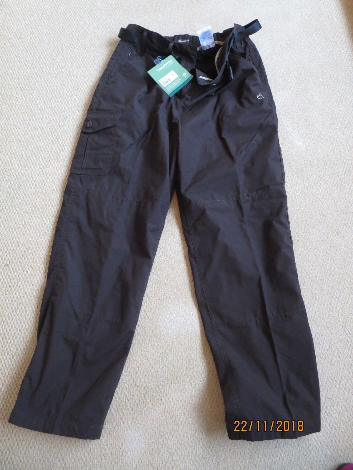 Craghoppers Womens Kiwi Winter Trousers  14 s Dark Saddle SCWJ011S