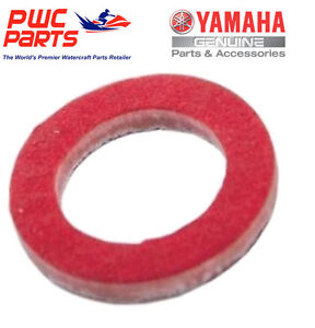 Yamaha oem outboard lower unit oil drain screw gasket for Yamaha f150 lower unit oil