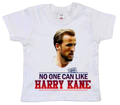 "World Cup 2018 Baby T-Shirt /""No one can like Harry Kane/"" England Football Gift"