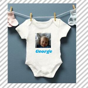 Personalised Our First Fathers Day Baby Kids  Body Suit Vest  longvsleeve Boy