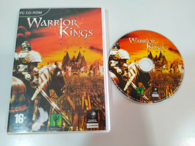 WARRIOR KINGS - Juego para PC CD-Rom Edicion España